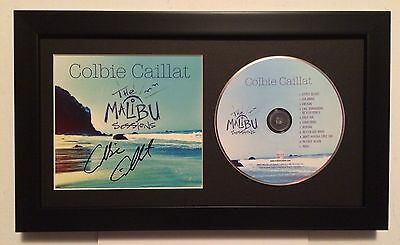 ** AUTOGRAPHED ** FRAMED ** Colbie Caillat * The Malibu Sessions