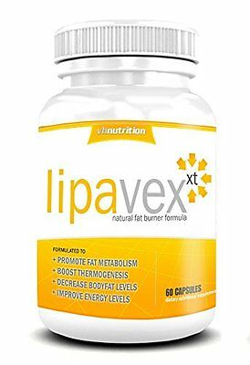 LIPAVEX Potent Belly Fat Burner - 60x Capsules - Food Supplement - VH Nutrition