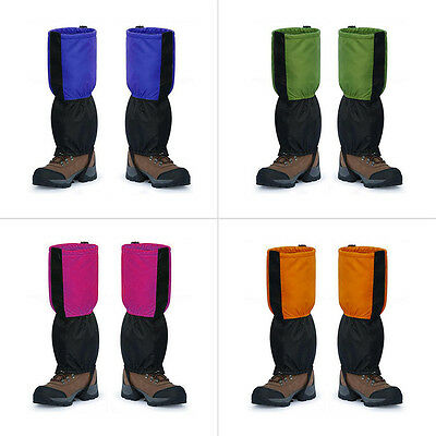 2 PCS Outdoor Waterproof Mountaineering Snow Cover Foot Sleeve For Adult E5