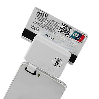 New NFC Contactless Tag Reader Writer Magnetic Card Reader For Smart Phones E5