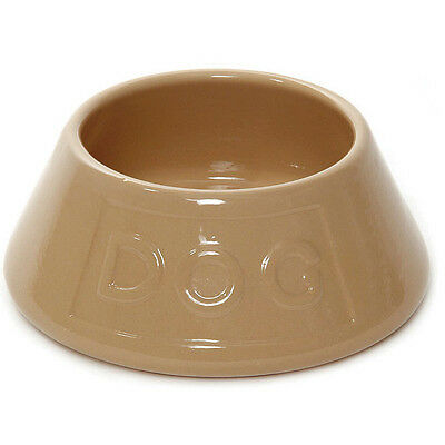 Rayware Non Spaniel Water Bowl Lettered Dog Ceramic Cat & Dog Pet Bowl