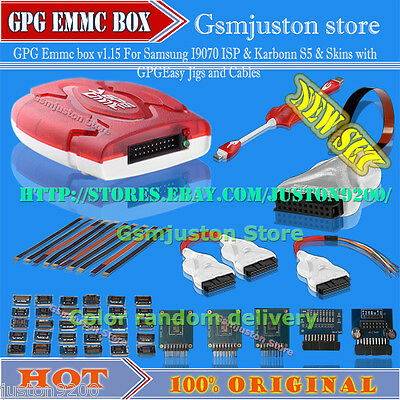 GPG EMMC Box is a box for repairing dead Android and WP8 phones with EMMC