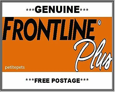 FRONTLINE PLUS KIT flea & tick for Dogs up to 10kg - 6 months' supply