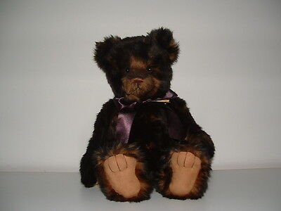 Charlie Bears - Tristan - Collectable Bear Handmade Fully Jointed