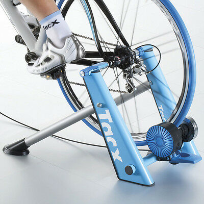 Tacx T2650 Blue Matic Folding Magnetic Turbo Trainer Home Indoor Trainer
