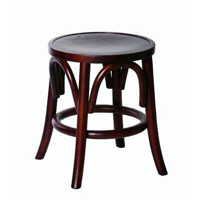 New Replica Thonet Bentwood Round Bar Cafe Kitchen Stool Restaurant Nelson 46cm