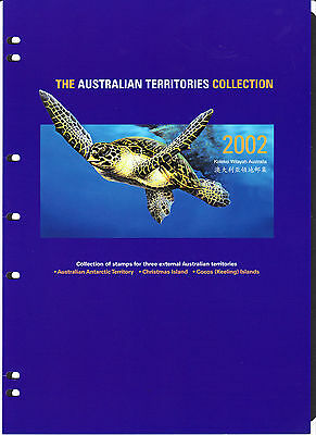Australia THE AUSTRALIAN TERRITORIES COLLECTION 2002