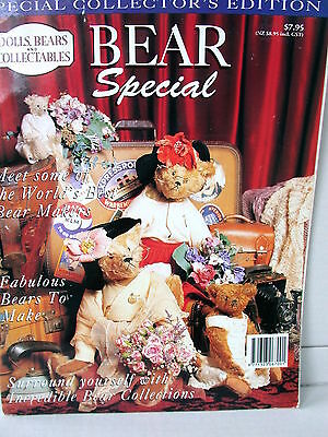 DOLLS BEARS  & COLLECTABLES BEAR SPECIAL  techniques patterns clothes tips ideas