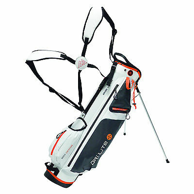 Big Max Standbag - Dri Lite 7 - wasserdicht- Farbe:white/orange, Neu!