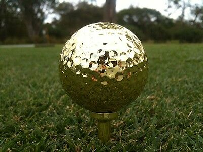 Gold Golf Ball Made in the USA Playable 24K Golf Ball