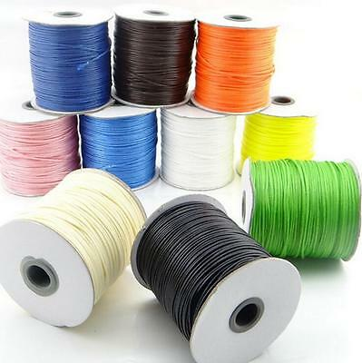 10m Round Real Leather Cord Finding Cord String Rope 1.5/2/2.5/3/4/5/6/7/8mm