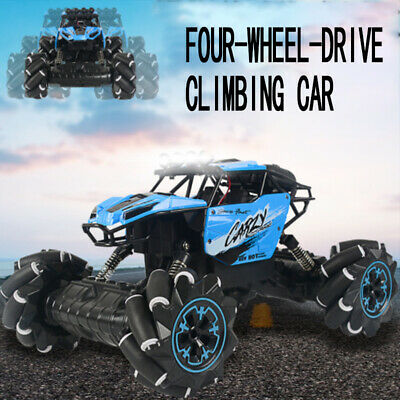 2.4G Radio Remote control 1/18 RC 4WD Truck Car Off Road Buggy Monster Climbing