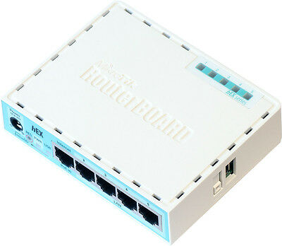Router RB750Gr3 hEX Routerboard MikroTik 5 porte Gigabit RouterOS LAN Ethernet