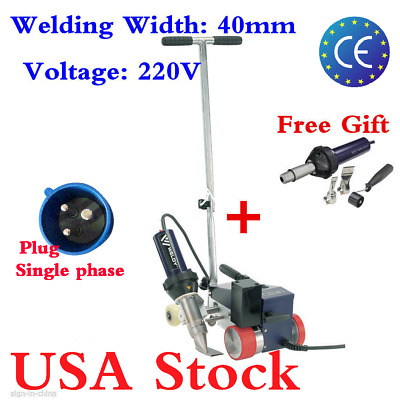 USA STOCK! AC220V Roofer RW3400 Roofing Hot Air Welder with 40mm Overlap Nozzle