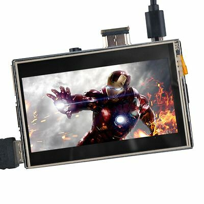 "3.5"" LCD HDMI Touch Screen Play Video Game for Raspberry Pi 2 Pi 3 1920x1080"