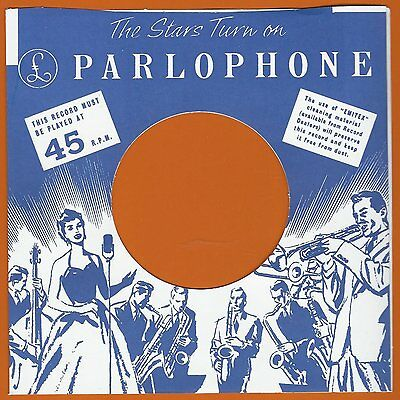 PARLOPHONE  REPRODUCTION RECORD COMPANY SLEEVES - (pack of 10)