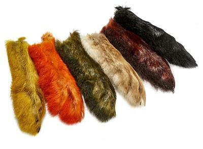 Patagonian Hares Feet | Like Snowshoe | Choice of Colours |  For Fly Tying