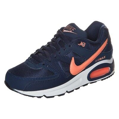 Nike - Air Max Command - Sneakers Basse Donna - Blu/salmone - 397690 488