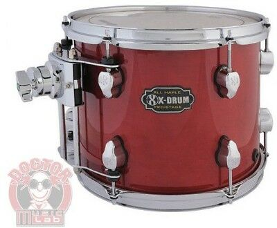 X-DRUM PRO-STAGE Tom PM2-TT1310-RD COLORE ROSSO