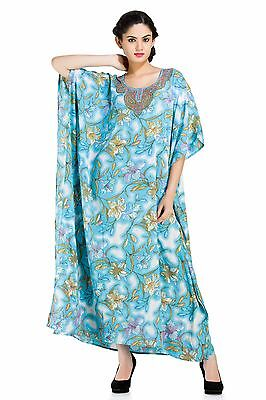 Long Caftan dashiki Hippie Boho Maxi Kaftan Gown Beach Cover Plus size Dress