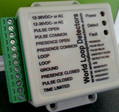 Vehicle Loop Detector.12-36V.ac & Dc Power.9Yrs And Still Our Top Seller