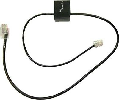 Plantronics Plx Spare Telephone Interface Phone Cable | Black