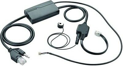 Plantronics EHS Electronic Hook Switch Cable Handset Kit | Apn-91 Nec Black