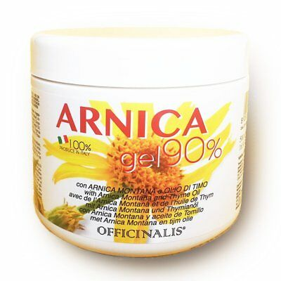 ARNICA GEL 90% contro traumi distorsioni ANTINFIAMMATORIO OFFICINALIS