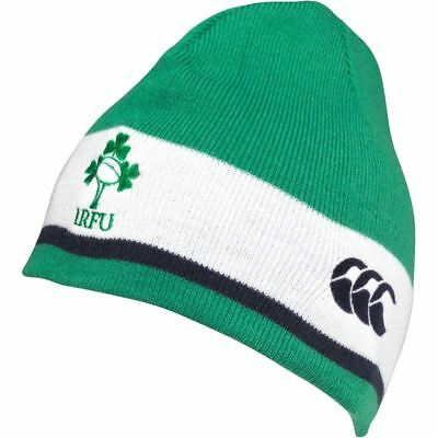 Canterbury Ireland IRFU Rugby World Cup 2015 Shield Beanie Hat Green Adults Hat