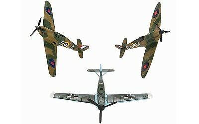 CS90691 Corgi Battle of Britain WW2 Fighters Spitfire Hurricane Messerschmitt