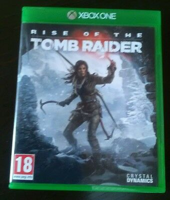 Xbox one game rise of the tomb raider