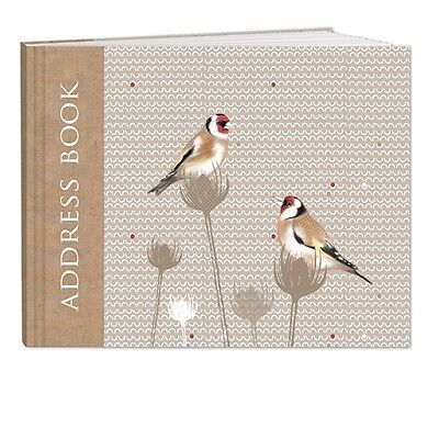 RSPB - A5 Address Book (Goodfinches)