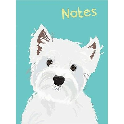 Waggy Tails - Flexi Note Books - Westie
