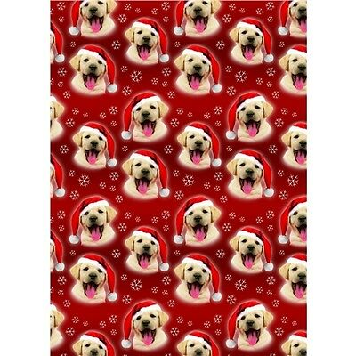 Christmas Wrap & Tags - Festive Pup (6 Sheets+Tags)