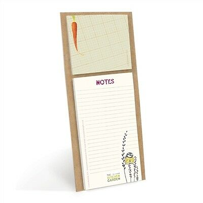 Kitchen Garden - Magnetic Memo Pad With Sticky Notes