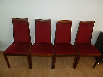 Set of 4 Vintage G Plan Dining Chairs