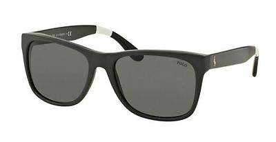 Genuine POLO RALPH LAUREN 4106 Sunglasses Replacement Lenses - Grey CR-39
