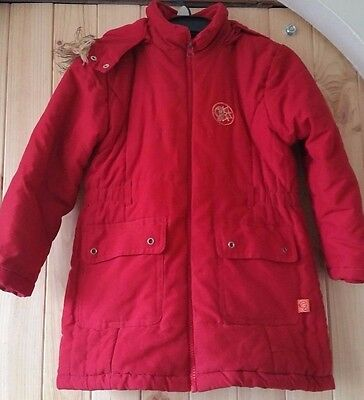 Winter Kids Girls Baby Hooded Warm Down Jacket Puffer Coat Clothes Red Children