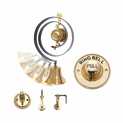 Butler Bell Set Messing, Messing Zug