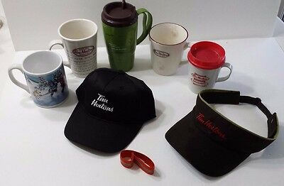 Tim Hortons Collectible Limited Edition Cups Insulated Cups Hat Visor Band