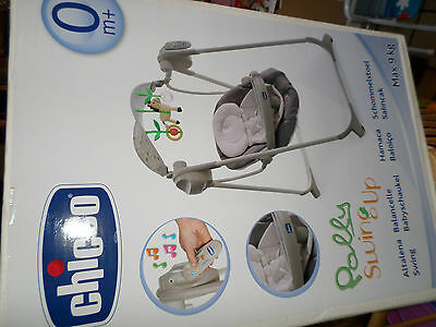 Balancelle, Chicco  Polly Swing UP - Silver , COMME NEUVE