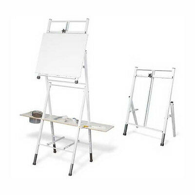 Bob Ross 2 in 1 Standing Floor & Table Top Artist Painting Easel with Storage