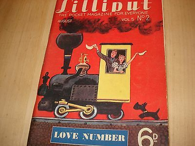 """""""LILLIPUT"""" Very Old Vintage Magazine Vol 5 No 2 THE LOVE NUMBER!"""