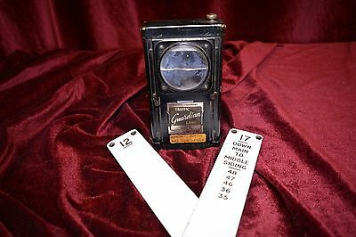 Vintage Railway Forster Traffic Guardian Hand Lamp & 2 lever plates