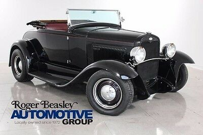 1931 Ford Model A  1931 FORD MODEL A LEATHER AUTO MSD TRANSMISSION