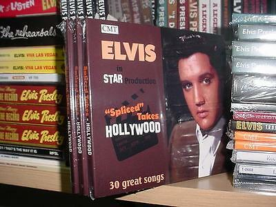 Elvis Presley: Spliced Takes Hollywood - CD NEW STAR RELEASE Deluxe Digipack