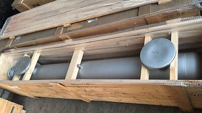 135 sq ft  U-tube Shell and Tube Heat Exchanger, ∼ 135 sq ft , new never