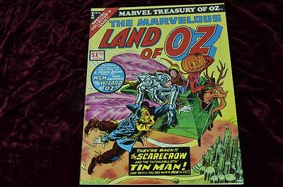 The Land of Oz (Marvel Treasury, 1975) GIANT Comic! FN+ Condition!