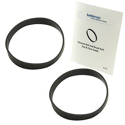 Bissell PowerForce Compact & Easy Vac Light Weight Vacuum Belts 2 Pack 2037034