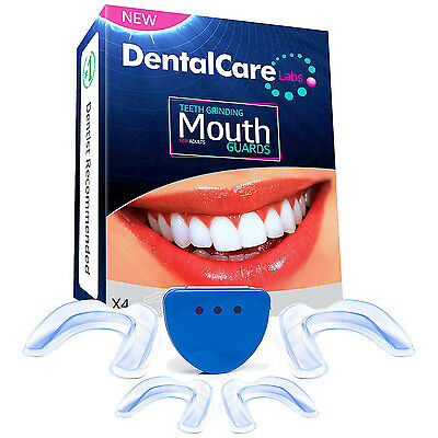 Dental Care Labs Anti Grinding Teeth Custom Moldable Dental Night Guard 4 Guards